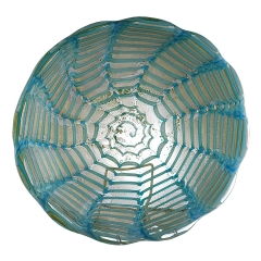 Barovier Dish with Segmented Caning